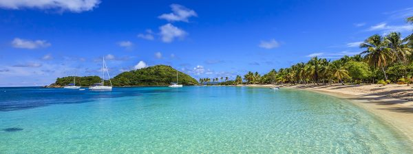 Salt Whistle Bay, Mayreau in the Grenadines