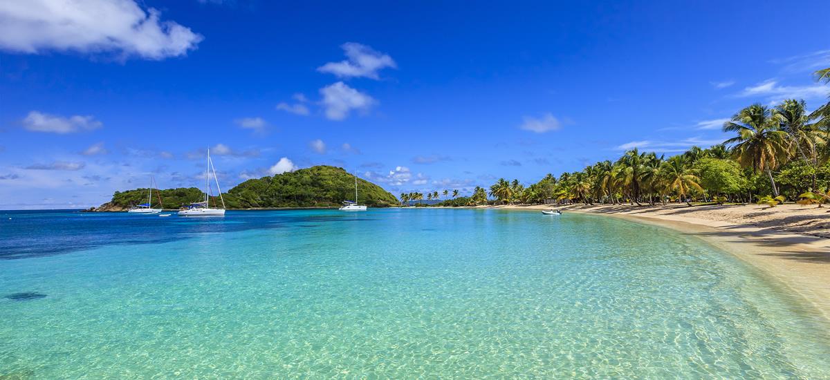 Salt Whistle Bay, Mayreau in the Grenadines