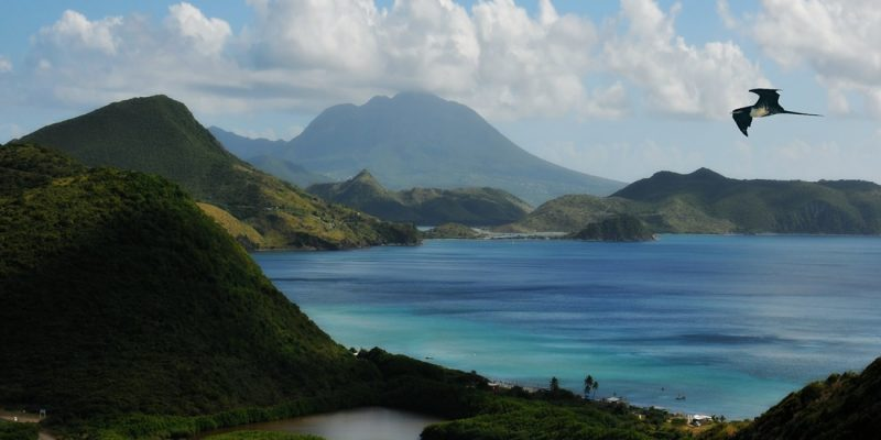 View of St Kitts & Nevis
