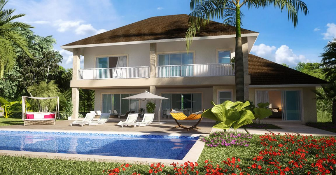 4 bedroom pre construction home for sale punta cana for Homes for sale dominican republic punta cana