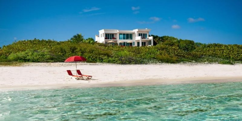 Anguilla - beach house for sale