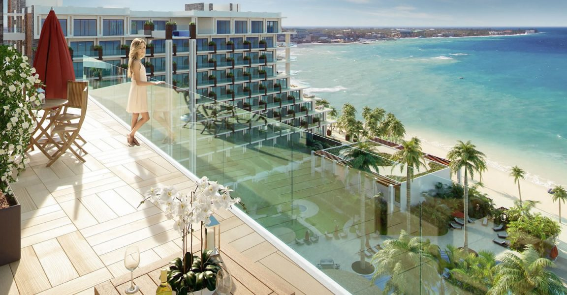 beachfront studio residences for sale seven mile beach grand