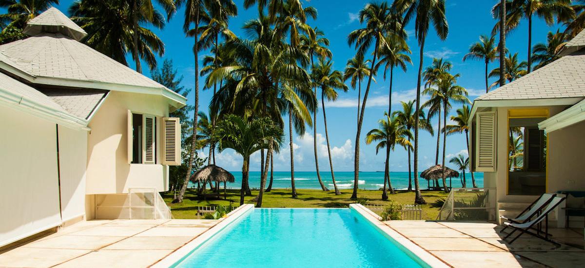 Las Terrenas Dominican Republic Beachfront Villa For