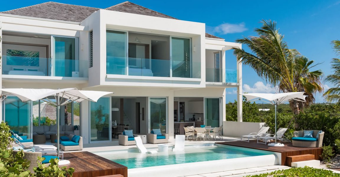 5 Bedroom Beachfront Home For Sale Long Bay Beach Providenciales Turks Caicos 7th Heaven