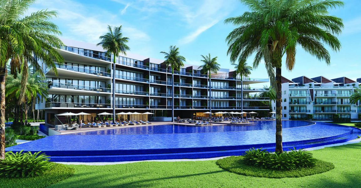 3 bedroom penthouse condos for sale b varo punta cana for Homes for sale dominican republic punta cana