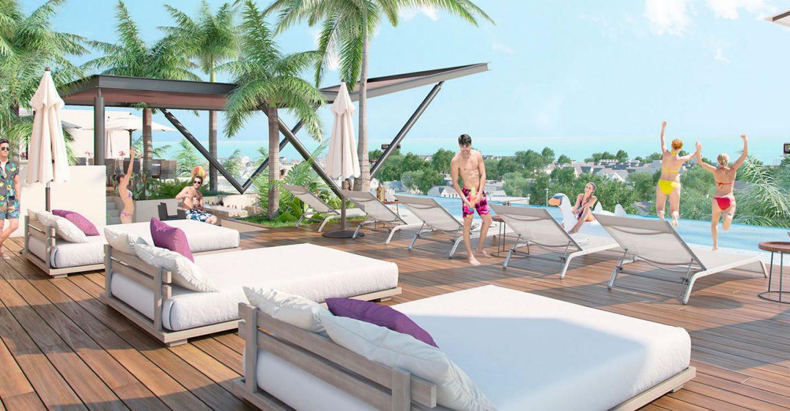 1 bedroom condos for sale playa del carmen mexico 7th for Actual studio muebles playa del carmen