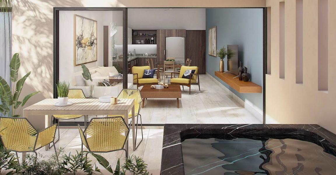 1 bedroom penthouse condos for sale playa del carmen for Actual studio muebles playa del carmen