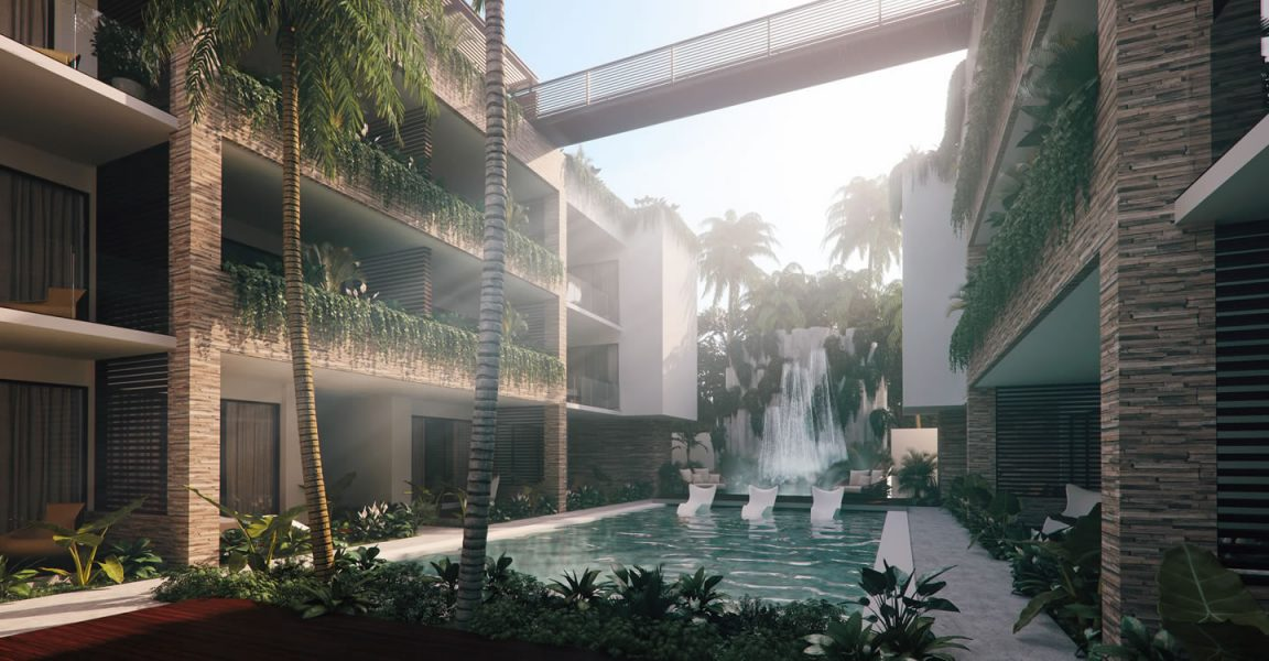 3 Bedroom Vacation Condo For Sale Aldea Zama Tulum Mexico 7th Heaven Properties