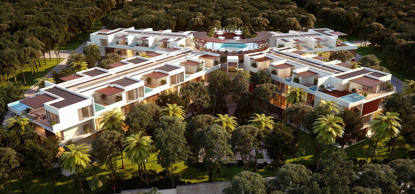 Penthouse Studio Condos for Sale, La Veleta, Tulum, Mexico - 7th ...