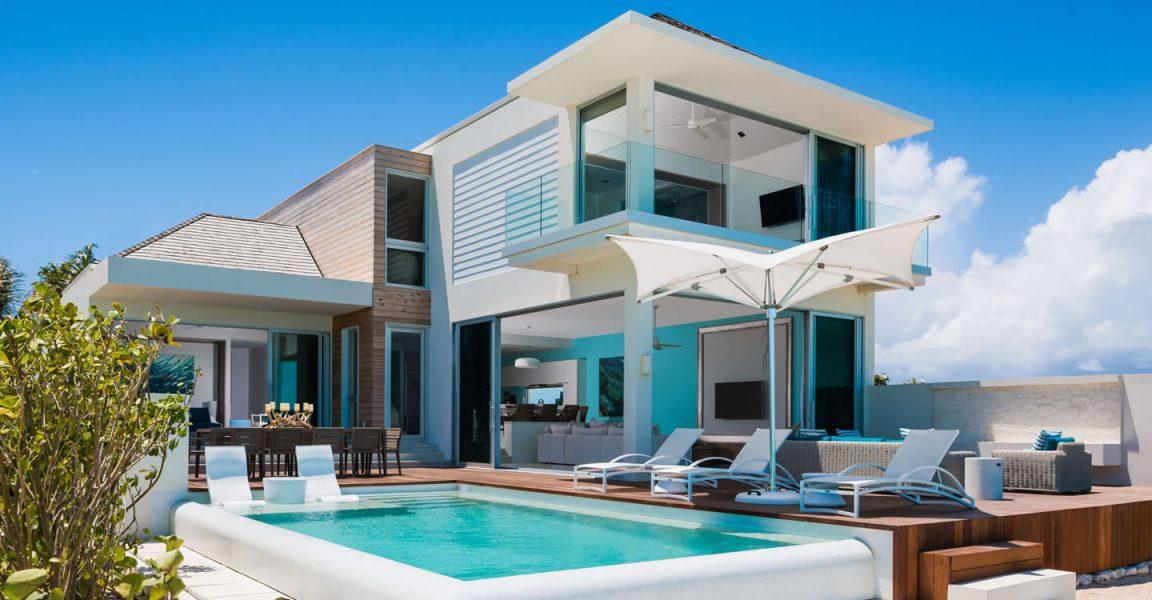 5 bedroom beach house for sale  long bay beach  providenciales  turks  u0026 caicos