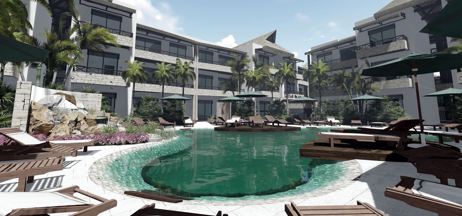 Incredible Studio Condos For Sale Downtown Tulum Quintana Roo Interior Design Ideas Gentotthenellocom