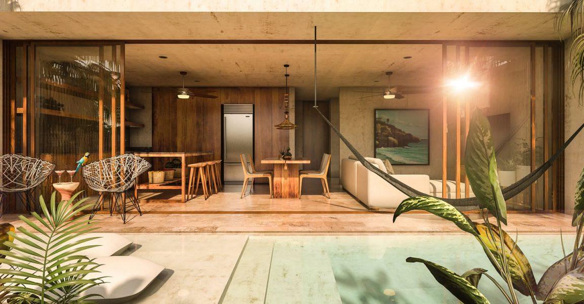 2 Bedroom Apartments For Aldea Zamá Tulum Riviera Maya Mexico