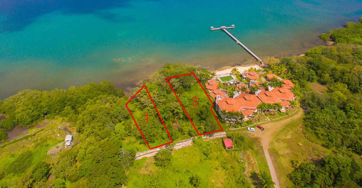 Beachfront Land For Sale Big Bight Roatan 7th Heaven Properties