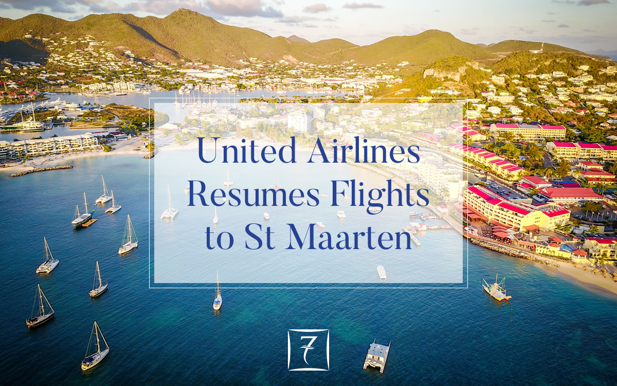 United Airlines Resumes Flights to St Maarten