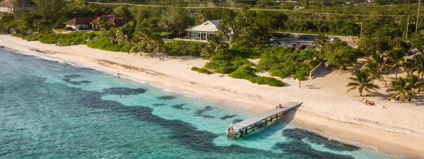 A beautiful beach on Grand Cayman in the Cayman Islands