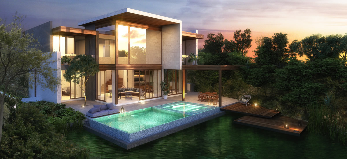 Luxury residences for sale in Riviera Maya