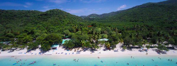 Magens Bay Beach, St Thomas, US Virgin Islands - Aerial View