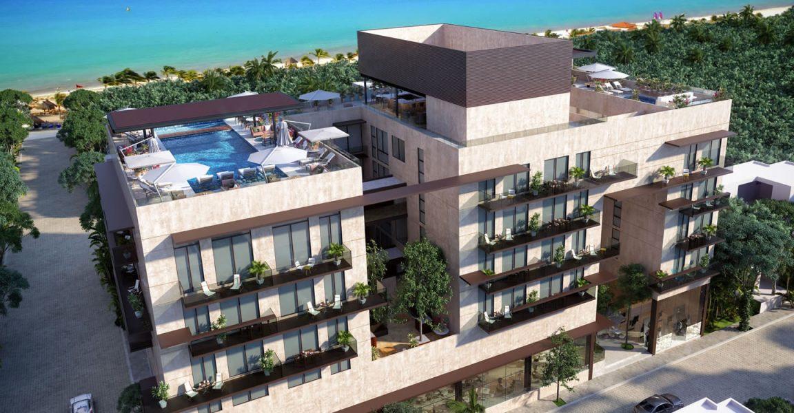 2 Bedroom Hotel Condo for Sale, Playa del Carmen, Quintana
