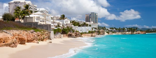 Resort on Cupecoy Beach, St Maarten