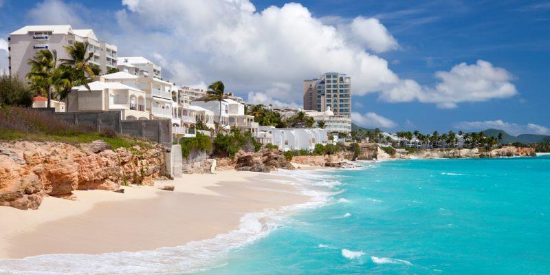 Resort on Cupecoy Beach, St Maarten