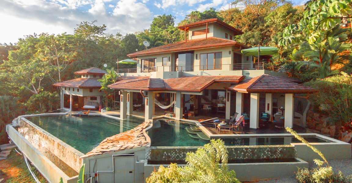 7 bedroom luxury home for sale escaleras dominical for Costa rica luxury homes for sale