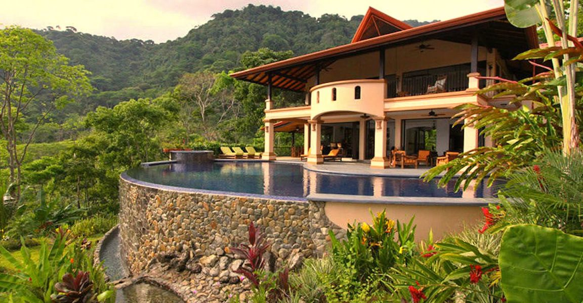 10 bedroom luxury property for sale escaleras dominical for Costa rica luxury homes for sale