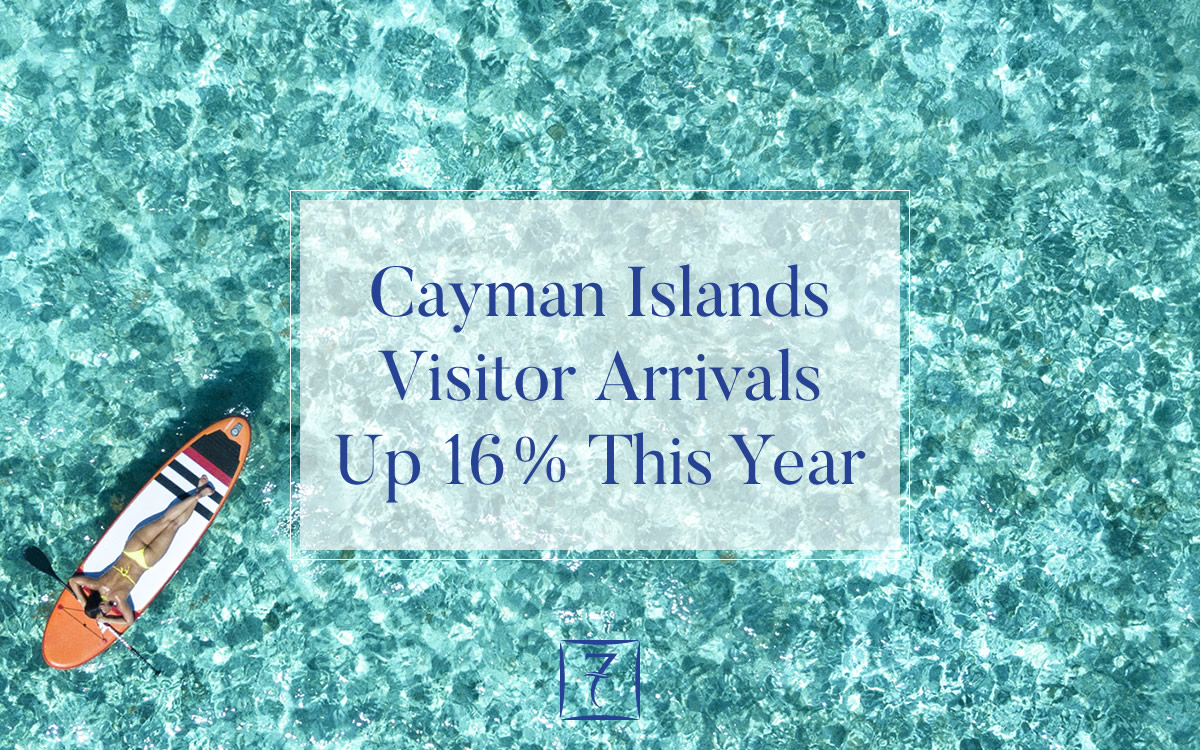 Cayman Islands visitor arrivals up 16% in first 5 months of 2018