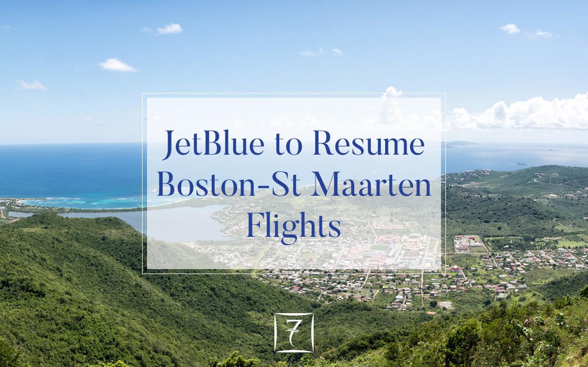 jetblue to resume boston-st maarten flights