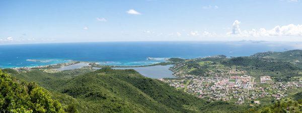 Sint Maarten - Aerial View