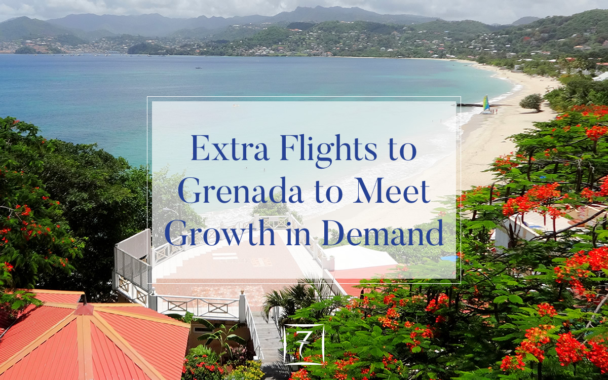 Extra flights to Grenada to meet growth in demand