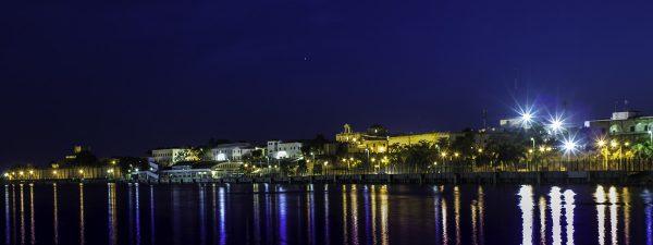 Santo Domingo, Dominican Republic - at night