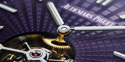 Luxury purple watch - Audemars Piguet