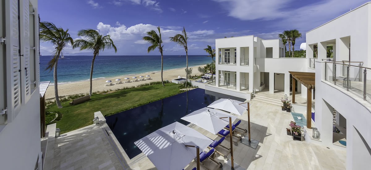 Luxury beachfront villa for sale in Anguilla