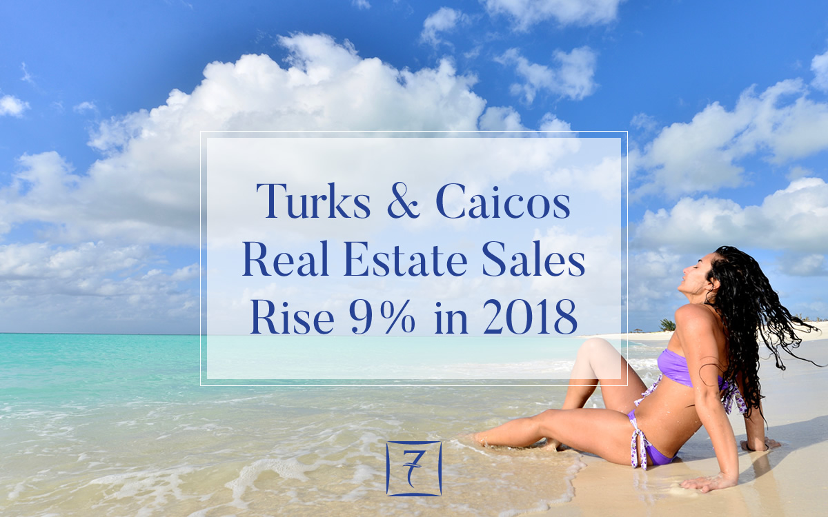 Sales of real estate in Turks & Caicos rise 9% in 2018