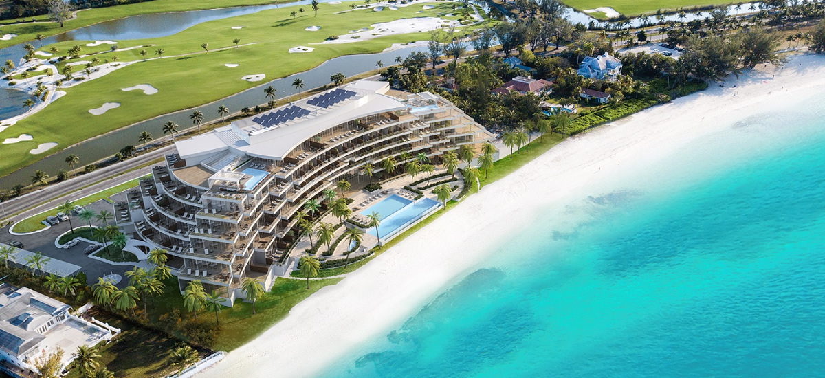 Oceanfront condos for sale in Cable Beach, The Bahamas