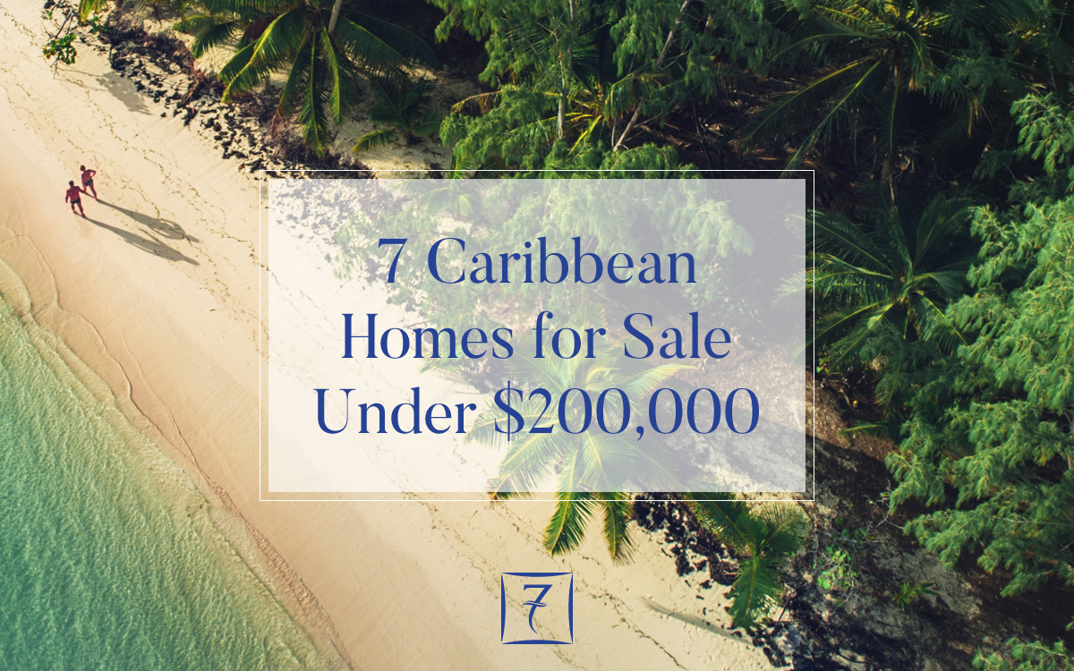 7 Caribbean homes for sale under US $200,000