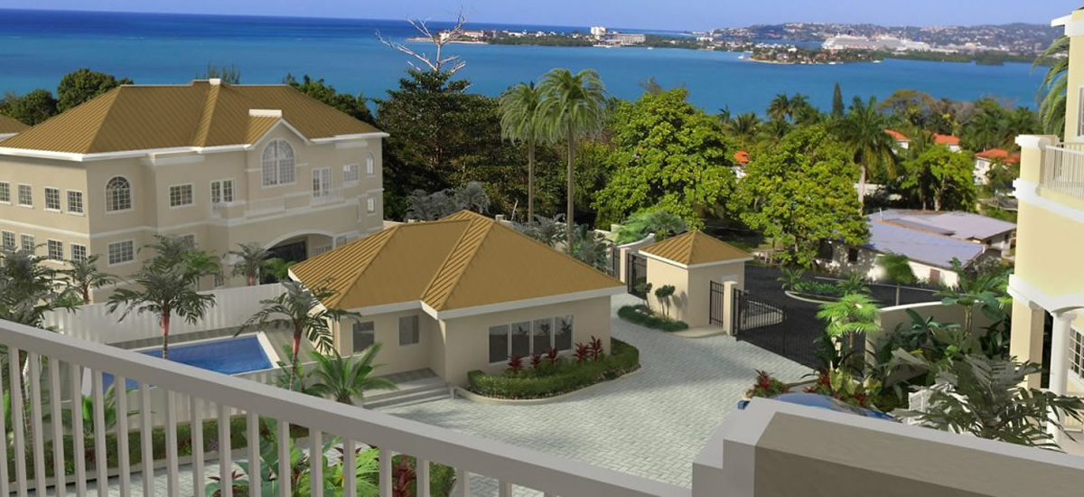 Apartments for sale in Spring Gardens near Montego Bay, Jamaica