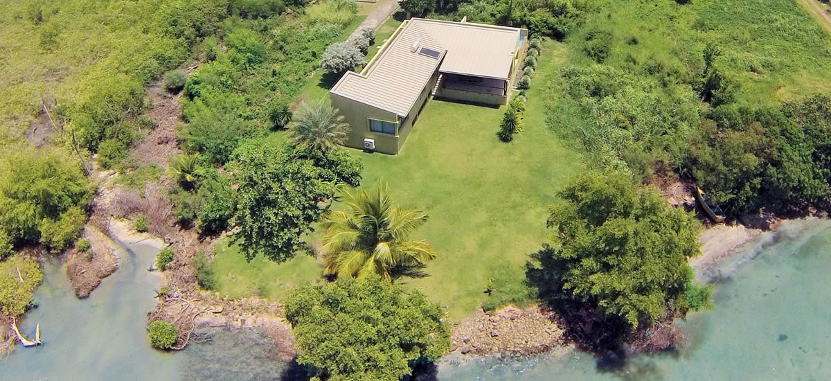 Beachfront home for sale in Westerhall Point, Grenada