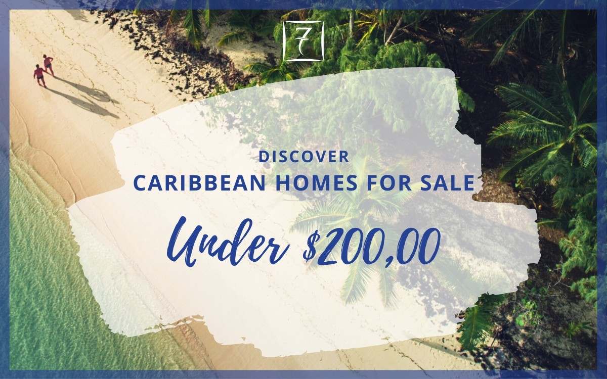 Discover Caribbean homes for sale under US $200,000