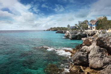 The coast of Negril, Jamaica