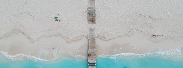 Grace Bay Beach, Providenciales in the Turks & Caicos Islands