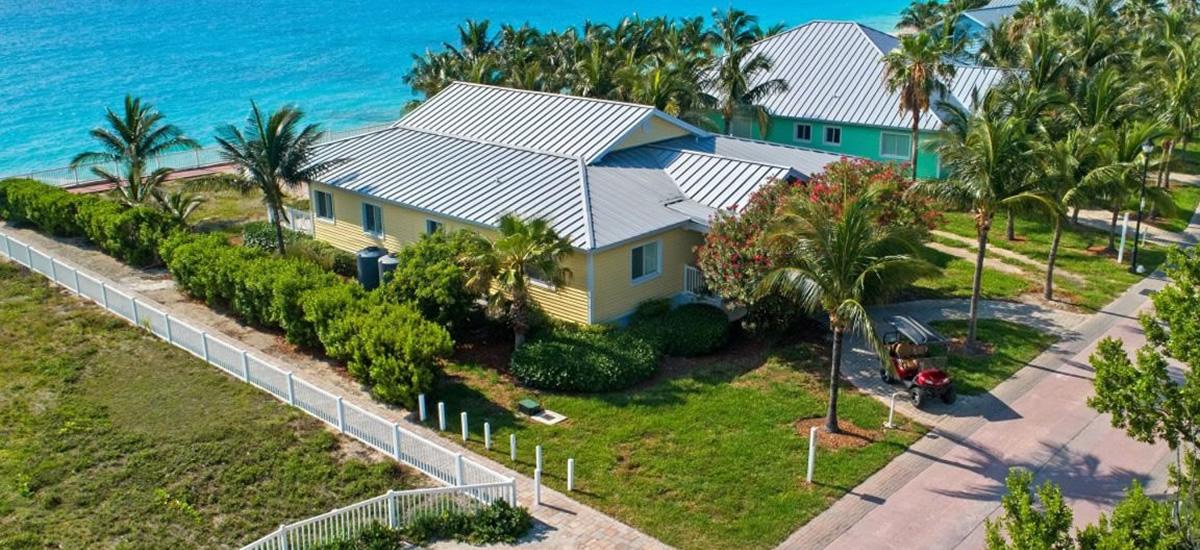 Luxury oceanfront home for sale in Bimini Bay, Bahamas