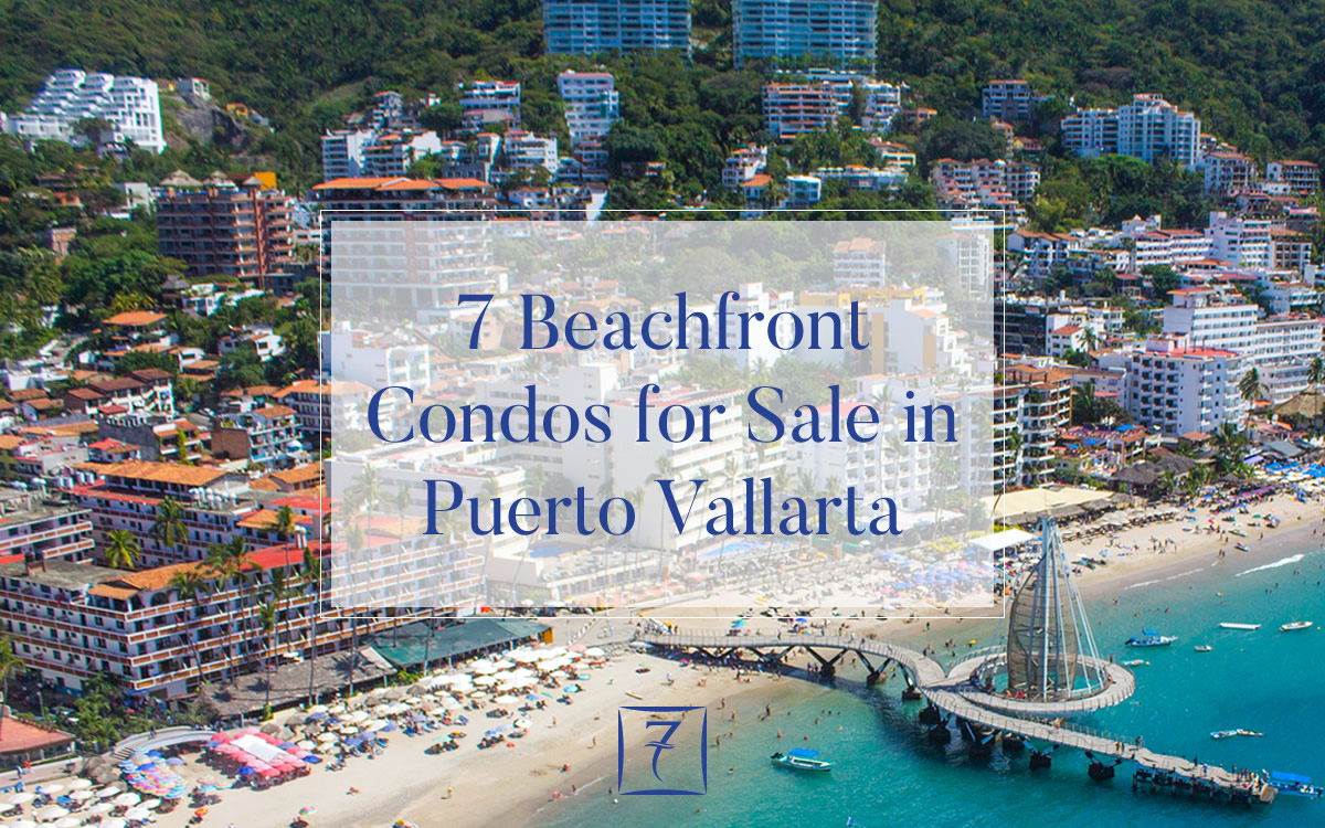 7 beachfront condos for sale in Puerto Vallarta