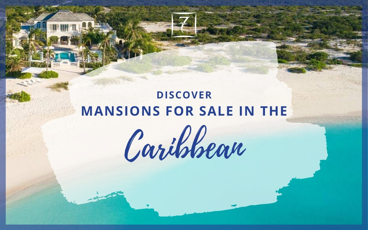 Discover lavish mansions for sale in the Caribbean