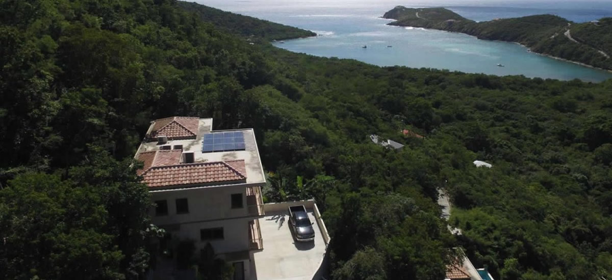 Home for sale in Fish Bay, St John in the US Virgin Islands