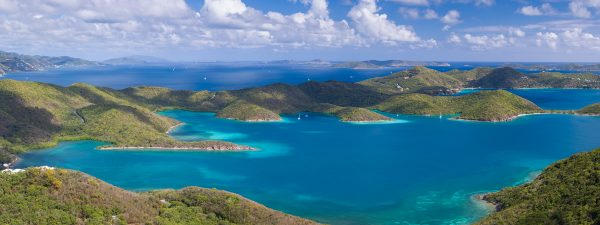 St John, USVI in the Leeward Islands