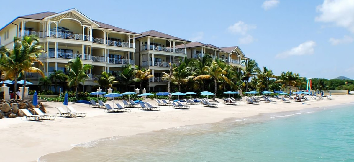 St Lucia realty - beachfront apartments for sale in The Landings