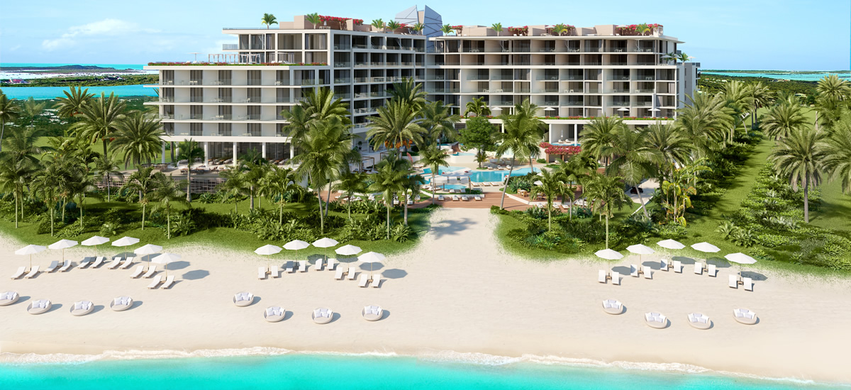 Turks & Caicos realty - Andaz Turks & Caicos Residences at Grace Bay