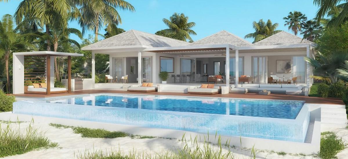 Grace Bay beach villas