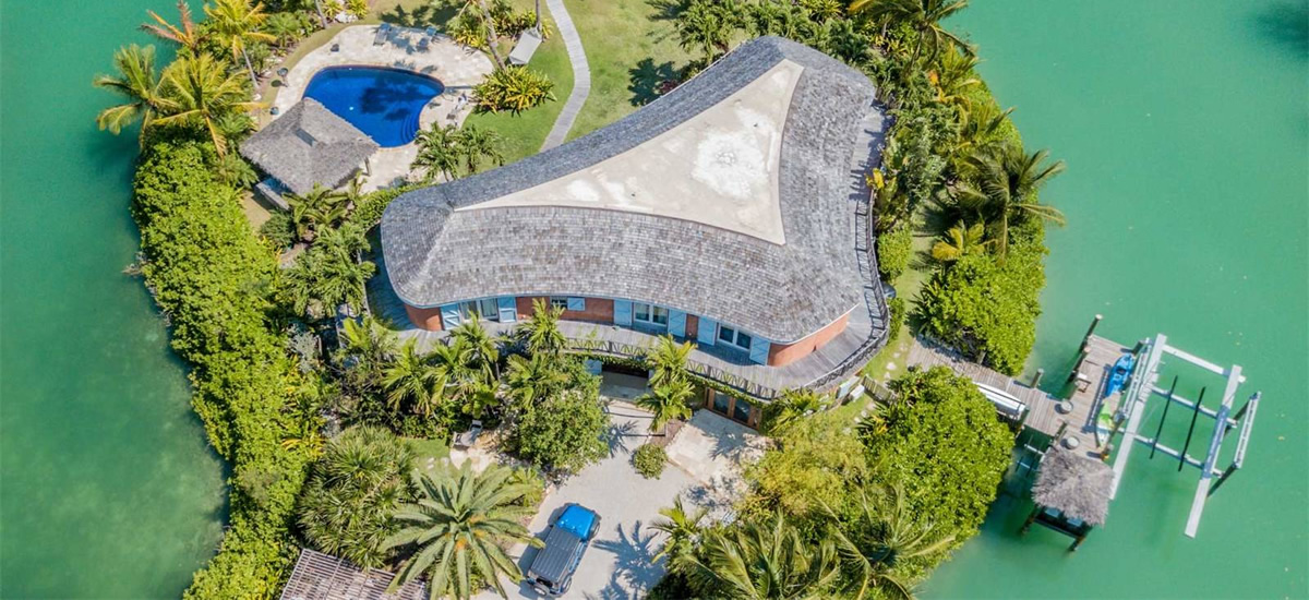 Private island home for sale in Old Fort Bay, Bahamas